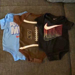 Nike onsies 3-6 & 6 months
